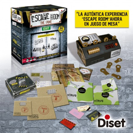 juego de mesa escape room the game